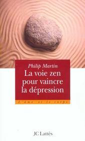 Le Zen Pour Vaincre La Depression - Intérieur - Format classique
