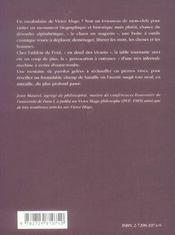 Le Vocabulaire De Victor Hugo - 4ème de couverture - Format classique