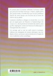 La Demarche De Modelisation En Chimie Decouvrir La Methodologie Scientifique Au Travers Des Textes H - 4ème de couverture - Format classique