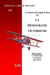 La Democratie Victorieuse - Couverture - Format classique