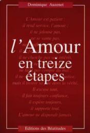 Amour En Treize Etapes (L') - Couverture - Format classique