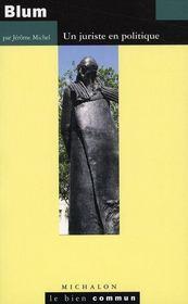 Léon Blum ; un juriste en politique - Intérieur - Format classique