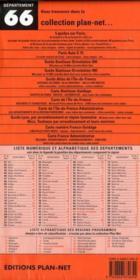 Departement n 66 - 4ème de couverture - Format classique