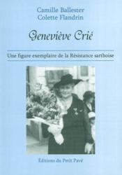 Genevieve crie - Couverture - Format classique
