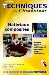 Materiaux composites (cd-rom, 2. ed.) - Couverture - Format classique