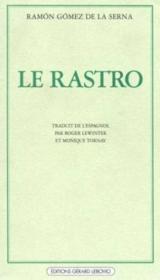 Le rastro - Couverture - Format classique