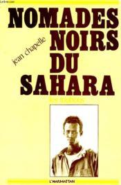 Nomades noirs du sahara ; les toubous - Couverture - Format classique