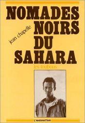 Nomades noirs du sahara ; les toubous - Intérieur - Format classique