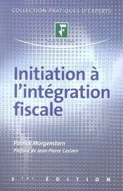 Initiation a l'integration fiscale - Intérieur - Format classique