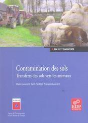 Contamination des sols ; transferts des sols vers les animaux - Intérieur - Format classique