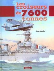 Croiseurs de 7600 tonnes - Intérieur - Format classique