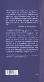 Journal de holy head - 4ème de couverture - Format classique