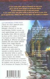 Enfants de lugheir (les) tome 3 - forteresse d'ynis mor - 4ème de couverture - Format classique