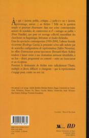Le destinataire au théâtre (1950-2000) ; à qui parle-t-on ? - 4ème de couverture - Format classique