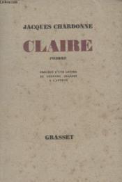 Claire. - Couverture - Format classique