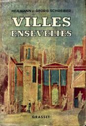 Villes Ensevelies. - Couverture - Format classique