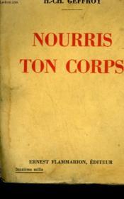 Nourris Ton Corps. - Couverture - Format classique