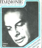 Harmonie N°113 - Couverture - Format classique