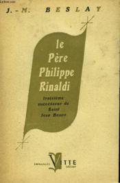 Le Pere Philippe Rinaldi - Couverture - Format classique
