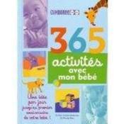 365 activités pour votre bébé - Couverture - Format classique