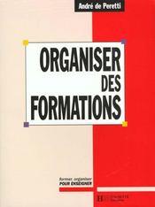 Organiser des formations - Intérieur - Format classique