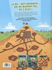 Les insectes en bande dessinée T.3 - 4ème de couverture - Format classique