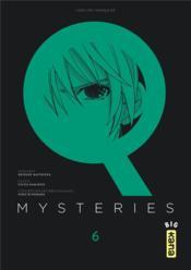 Q mysteries t.6 - Couverture - Format classique