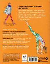 MON CAHIER ; yoga sculpt - 4ème de couverture - Format classique