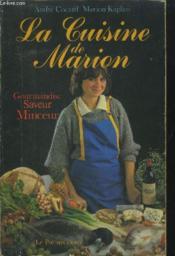 La Cuisine De Marion - Couverture - Format classique