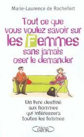 Tout ce que vous voulez savoir sur les femmes - un livre destine aux hommes, qui interessera les fem - Intérieur - Format classique