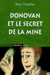 Donovan Et Le Secret De La Mine - Couverture - Format classique