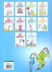 Les gosses t.10 ; g.u un 8 en fran_c - 4ème de couverture - Format classique