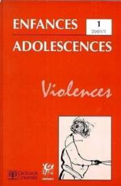 Revue Enfances Adolescences N.1 - Couverture - Format classique