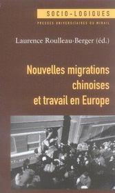 Nouvelles migrations chinoises et travail en europe - Intérieur - Format classique