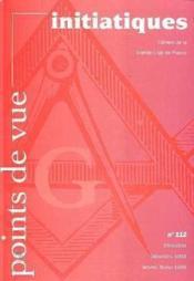 Revue Points De Vue Initiatiques N.112 - Couverture - Format classique