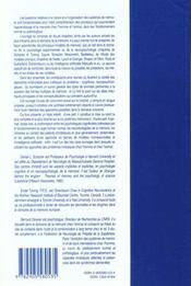 Systèmes de memoire chez l'animal et chez l'homme - 4ème de couverture - Format classique