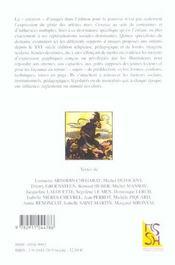 REVUE LA LICORNE ; l'image pour enfants: pratiques, normes, discours (France et pays francophones, XVIe-XXE siècles) - 4ème de couverture - Format classique