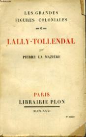 Lally-Tollendal - Couverture - Format classique