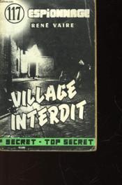 Village Interdit - Couverture - Format classique