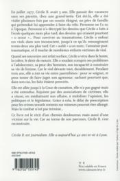 Le petit vélo blanc - 4ème de couverture - Format classique