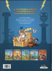 Les Petits Mythos T.5 ; détente aux enfers - 4ème de couverture - Format classique