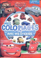 Cars ; mes coloriages avec des stickers - Couverture - Format classique