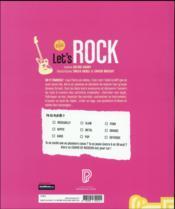 Let's rock - 4ème de couverture - Format classique