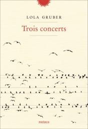 Trois concerts - Couverture - Format classique