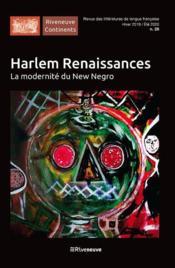 Harlem renaissance ; Paris des cultures noires - Couverture - Format classique