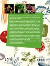 Petite et grande histoire des légumes - 4ème de couverture - Format classique