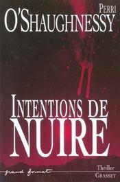 Intentions de nuire - Intérieur - Format classique