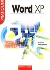 Word XP ; livre de l'élève - Couverture - Format classique