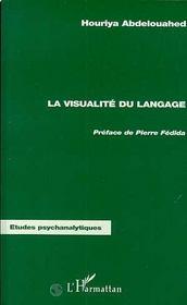 Visualité du langage - Couverture - Format classique