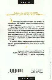Cauchemar A Louer - 4ème de couverture - Format classique